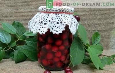 Wiśnia we własnym soku na zimę to pałeczka witaminowa. Wiśnie w puszkach w naszym własnym soku na zimę z cukrem i bez cukru
