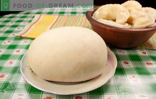 Ciasto pasztetowe na pierogi - będzie idealne! Przepisy na ciasto kremowe na pierogi: na wodę, mleko, śmietanę, wielobarwne
