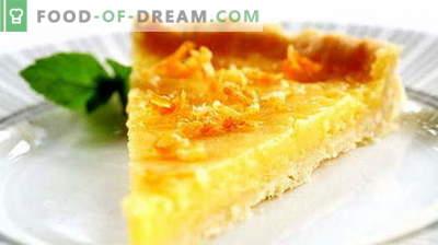 Lemon pie - najlepsze przepisy. Jak prawidłowo i smacznie gotować ciasto cytrynowe.