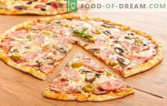 Cienkie ciasto do pizzy - tajemnica Włochów! 7 najlepszych receptur na cienkie ciasto do pizzy: bez drożdży i zwykłych drożdży
