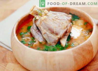 Zupa baranina - najlepsze przepisy. Jak prawidłowo i smacznie gotować zupę jagnięcą.