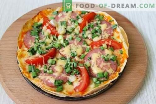 Ekonomiczna pizza na picie - szybko i bardzo smacznie!