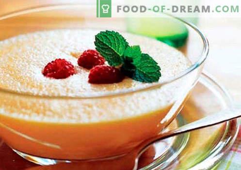 Puree owocowe - najlepsze przepisy. Jak właściwie i smacznie przygotować przecier owocowy.