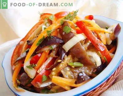 Koreańskie sałatki - najlepsze przepisy. Jak gotować koreańskie sałatki i smaczne.
