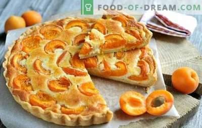 Prosta tarta morelowa - każdy może sobie z tym poradzić! Gotowanie letnich ciast morelowych: proste przepisy dla wszystkich