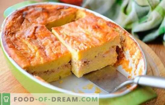 Zapiekanka ziemniaczana z mięsem mielonym - proste danie z dostępnych produktów. Zapiekanka ziemniaczana z mielonym mięsem i warzywami