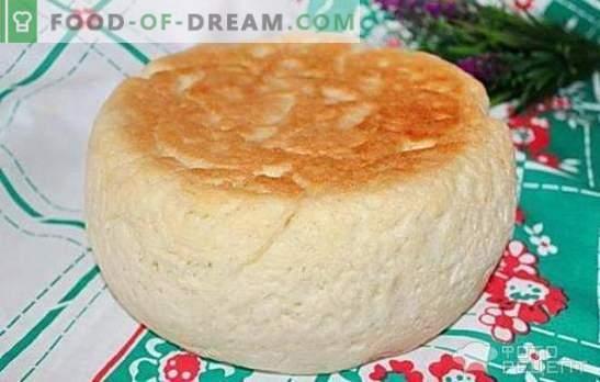 Biały chleb w wolnej kuchence: szybkie i smaczne gotowanie w domu. Opcje gotowania białego chleba w wolnej kuchence na płatkach owsianych, śmietanie z sokiem z marchwi lub zielenią
