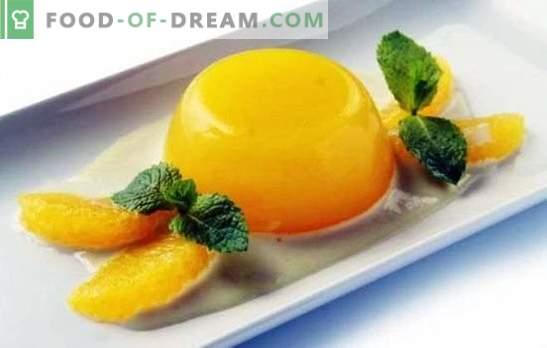 Galaretka z pomarańczami to lekki i zdrowy deser. Jak zrobić z nim galaretkę z pomarańczami i recepturami