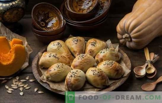 Samsa z dynią - soczyste trójkąty! Przepisy uzbeckie i proste samsa z dynią z różnych rodzajów ciasta