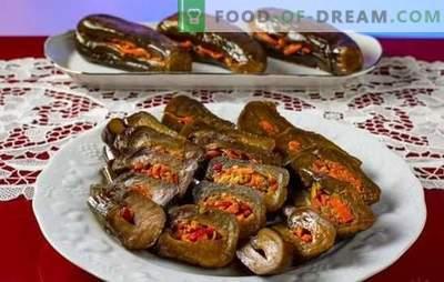 Marynowane bakłażany - szybkie, smaczne, pachnące! Wszystkie metody gotowania szybkich i smacznych bakłażanów marynowanych