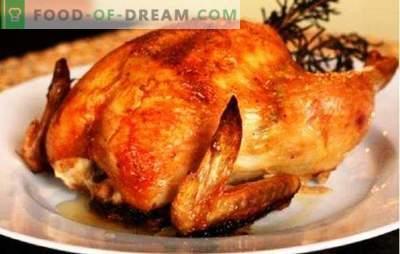 Cały kurczak w multicooker nie będzie się palił, nie wyschnie! Przepisy do gotowania różnych kurczaków w wolnej kuchence jako całości
