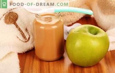 Puree jabłkowe dla dzieci: jak właściwie i smacznie gotować. Przepisy na puree jabłkowe dla niemowląt