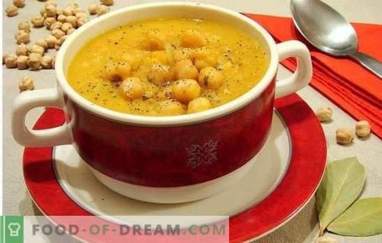 Zupa z ciecierzycą - orientalne nuty w codziennym menu. Stare i nowe przepisy na pyszną, aromatyczną i niezwykłą zupę z ciecierzycy