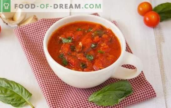 Przyprawa z pomidorów na zimę: pomidorowy smak lata w lodówce. Jak gotować przyprawę z pomidorów na zimę