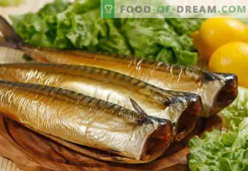 Wędzona makrela - najlepsze przepisy. Jak gotować w domu wędzoną makrelę.