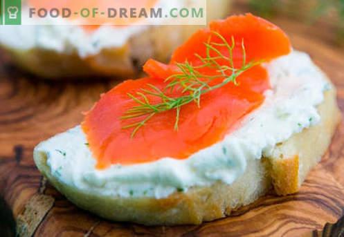 Kanapki rybne są najlepszymi przepisami. Jak szybko i smacznie gotować kanapki z rybami.