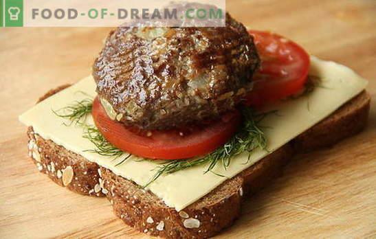Jak zrobić soczyste i delikatne kotlety z wołowiny i wieprzowiny. Wszystkie tajemnice gotowania domowych klopsików z mielonego mięsa wieprzowego i wołowego