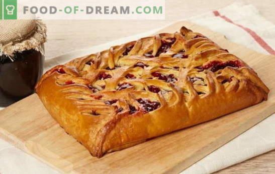 С какво пълнеж се прави торта върху сметана: сладко или месо. Рецепти от различни видове тесто със сметана: Защитени с авторски права
