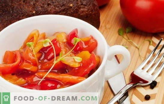 Gotowanie lecho z pastą pomidorową: proste czy eleganckie? Najlepsze opcje, przepisy krok po kroku dla lecho z koncentratu pomidorowego i warzyw