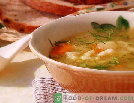 Zupa Dumpling - najlepsze przepisy. Jak prawidłowo i smacznie gotować zupę z kluseczkami.