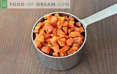 Zucca secca in un forno elettrico e un forno: strisce, frutta candita, polvere. Come ottenere una zucca essiccata e cosa cucinare da essa