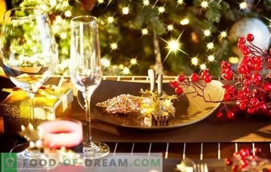 Afrodyzjaki na stole noworocznym.