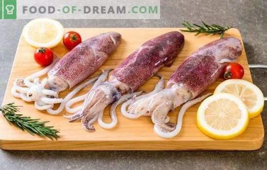 Błędy przy gotowaniu kalmarów, krewetek i innych morskich gadów
