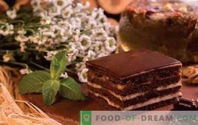 """Ciasto """"Spartakus"""" - przepisy na miód i czekoladową rozkosz! Wszystkie sekrety, sztuczki, różne opcje i przepisy na ciasto """"Spartak"""""""