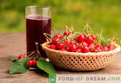 Kompot wiśniowy - najlepsze przepisy. Jak prawidłowo i smacznie przygotować kompot z wiśni.