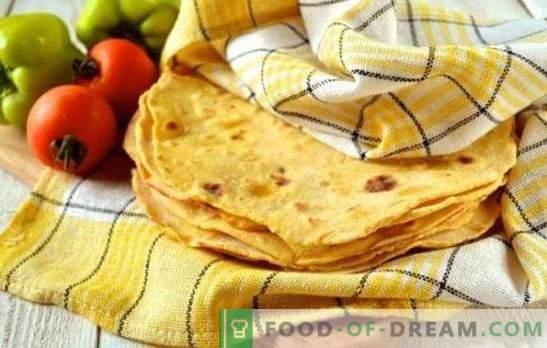 Meksykańskie tortille tortilla - smaczne i łatwe! Enchilada, nachos, quesadilla, burrito, chimichanga - przepisy na meksykańskie płaskie ciasta