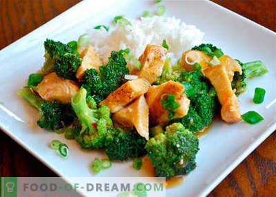 Kurczak Brokuły - najlepsze przepisy. Jak prawidłowo i smacznie gotować kurczaka z brokułami.
