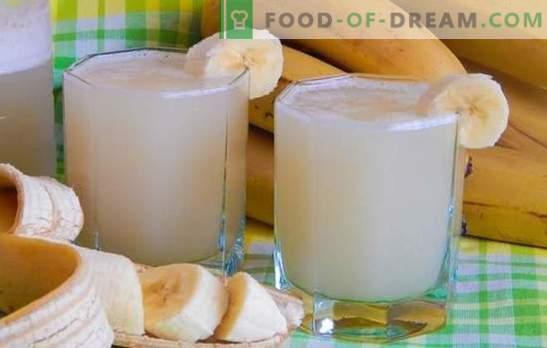 Kwas bananowy ze skór i miąższu: smaczny i zdrowy. Jak gotować kwas chlebowy ze skór bananowych Bolotova