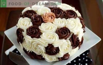 Krem dekorujący ciasto: najlepsze i oryginalne przepisy. Jak zrobić każdy rodzaj kremu do dekoracji ciasta: instrukcje krok po kroku
