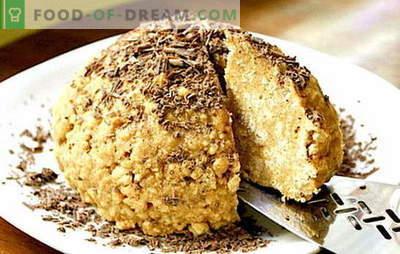 """Ciasto """"Mrowisko"""" w domu - wzgórze słodyczy! Przepisy domowe ciasto """"Anthill"""": z plików cookie i nie tylko"""