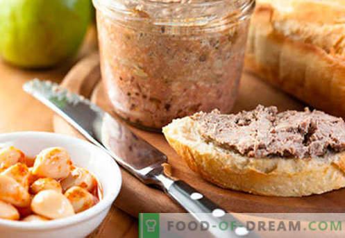 Pasztet z wątroby wieprzowej - najlepsze przepisy. Jak prawidłowo i smacznie gotować pasztet z wątroby wieprzowej.