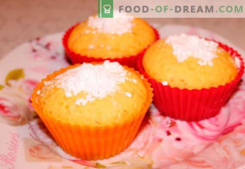Silikonowe babeczki na ciasto to najlepsze przepisy. Jak szybko i smacznie ugotować babeczki w silikonowych formach.