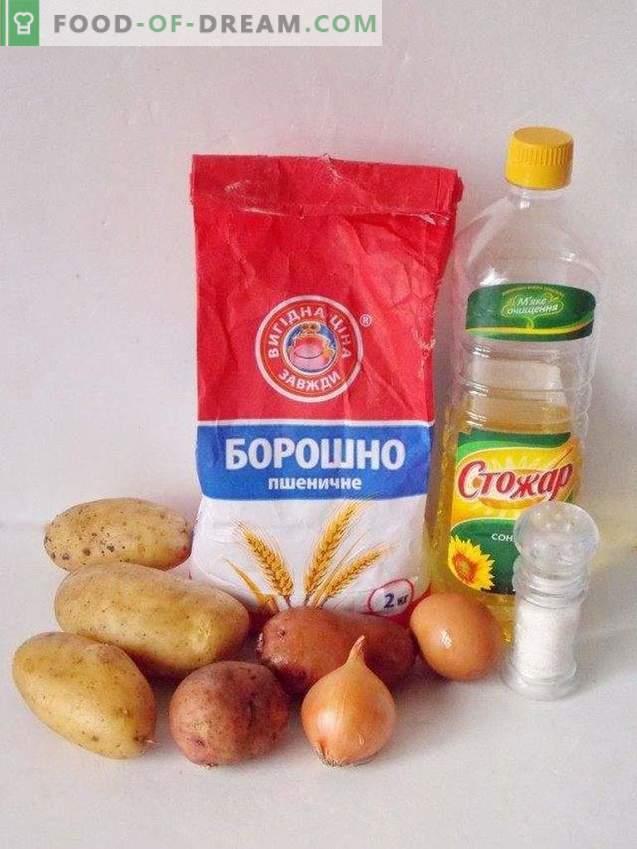 Placki ziemniaczane ziemniaczane lub draniki