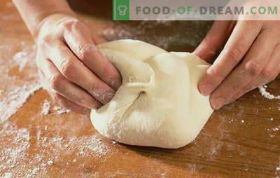 Ciasto do pizzy na wodzie: jak gotować i piec najprostszy włoski chleb. Przepisy na ciasto do pizzy na wodzie
