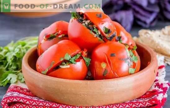 Armenian Tomatoes: Pikantne i pikantne nadziewane pomidory. Najlepsze tradycyjne receptury pomidorów w stylu ormiańskim