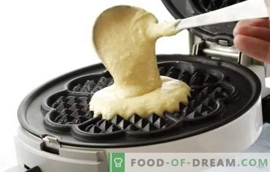 Dobre ciasto waflowe jest kluczem do udanego pieczenia! Najlepsze przepisy na ciasto na gofry na maśle, mleku, kefirze, śmietanie, twarogu, skondensowanym mleku