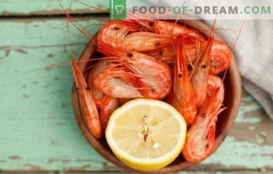Jak i ile gotować krewetki? Subtelności, tajemnice, przepisy kulinarne na krewetki, gotowane, mrożone, nieobrane, królewskie i inne