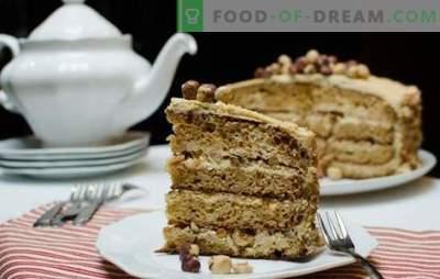 """Ciasto Golden Key - delikatny kremowy smak! Robić ciasto """"Złoty klucz"""" w domu"""