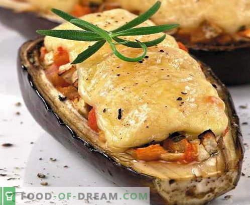Bakłażan z serem - najlepsze przepisy. Jak prawidłowo i smacznie gotować bakłażan z serem.