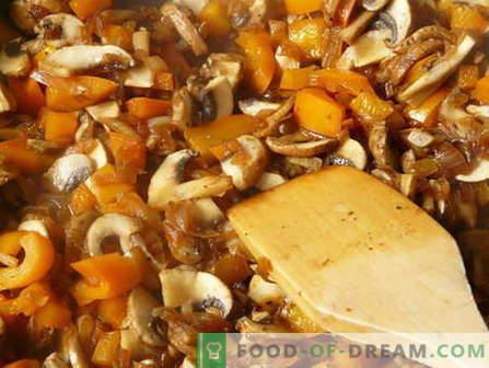 Duszone grzyby - najlepsze przepisy. Jak gotować duszone grzyby i smaczne.