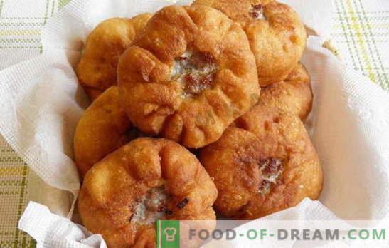 Jak zrobić belyashi w domu z mięsem i innymi nadzieniami. Jak zrobić belyashi w domu, więc okazały się soczyste i smaczne