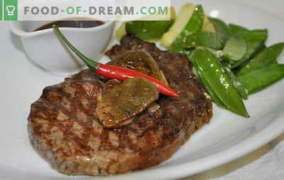 Mięso w piecu konwekcyjnym: jest pyszne! 8 unikalnych receptur. Gotowanie zdrowego mięsa w aerogrill: żeberka, polędwica, stek