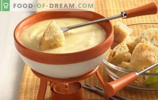 Ser Fondue to niesamowite danie! Gotowanie fondue o smaku sera z winem, szampanem, zielenią, ginem i kurczakiem