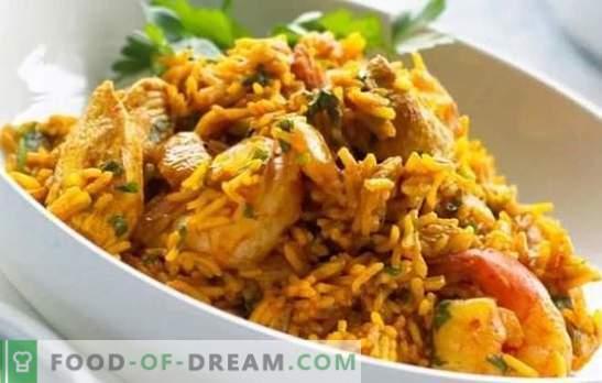 Kurczak Pilaf: przepis krok po kroku na popularne danie uzbeckie. Przepisy pilaw z kurczakiem, warzywami i suszonymi owocami