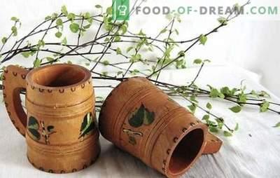 Kwas brzozowy z rodzynkami - oryginalny napój witaminowy. Najlepsze przepisy na kwas chlebowy z rodzynkami