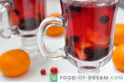 Kompot z mrożonych jagód - najlepsze przepisy. Jak prawidłowo i smacznie zrobić kompot z mrożonych jagód.